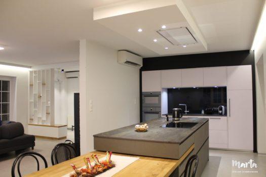 1. Rénovation maison familiale à Bartenheim ''Blanc et bleu''