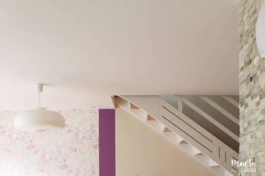Vue d'ensemble sur le mur de TV, par Marta Atelier d'Ambiances, Architecte d'intérieur à Mulhouse, Alsace