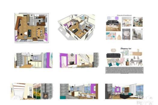 Projet complet sur mesure, par Marta Atelier d'Ambiances, Architecte d'intérieur à Mulhouse, Alsace