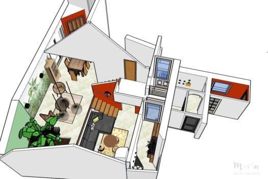 2 . Décoration maison à Uffholtz dans ''Esprit ethnique''