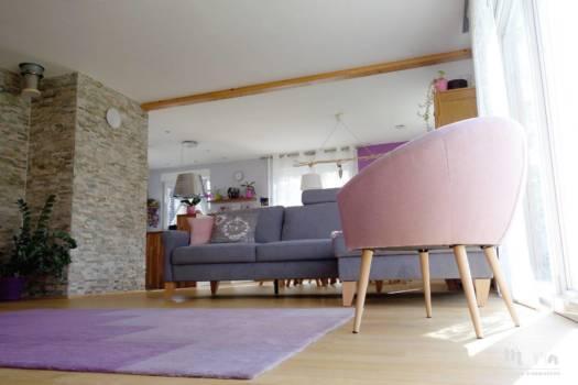 Salon scandinave, par Marta Atelier d'Ambiances, Architecte d'intérieur à Mulhouse, Alsace