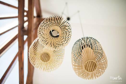 Jeu des suspensions en bambou ,par Marta Atelier d'Ambiances, Architecte d'intérieur à Mulhouse, Alsace