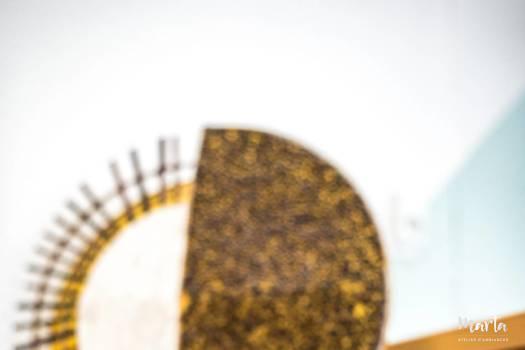 Décoration d'artiste africain ,par Marta Atelier d'Ambiances, Architecte d'intérieur à Mulhouse, Alsace